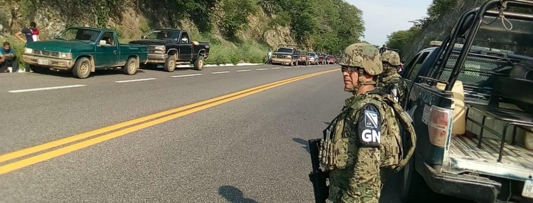 Detienen a ejército de civiles armados en La Unión, Guerrero