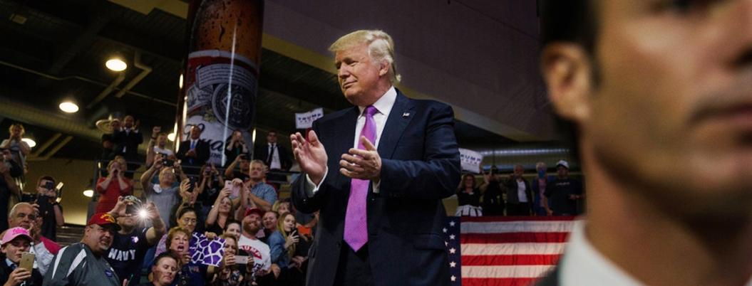 Trump alaba a México por reprimir a migrantes