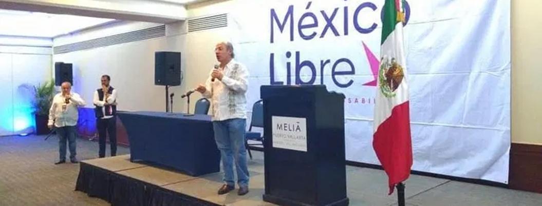 Calderón protagoniza asamblea distrital desierta en Puerto Vallarta
