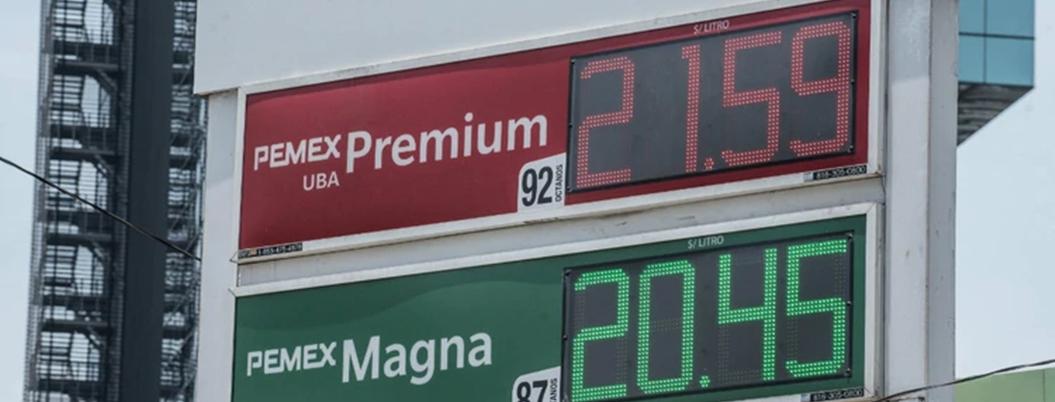 Gasolina Premium continúa sin estímulos fiscales