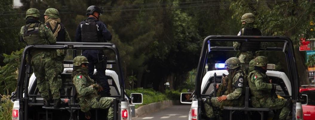 GN y policía estatal llegan a Tepalcatepec 8 días después de ataques