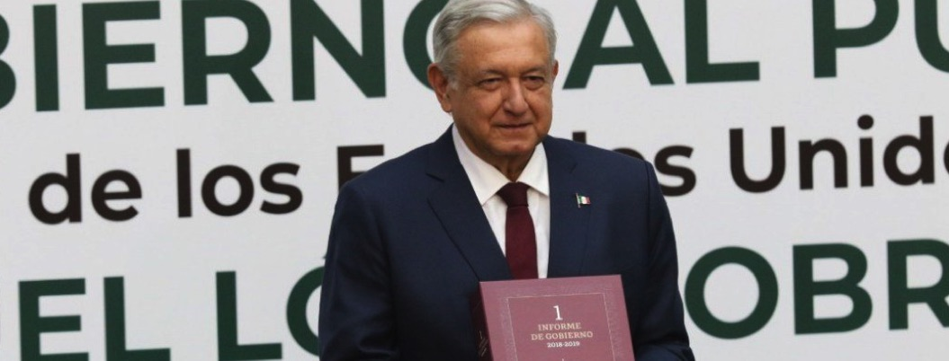 Conoce mensaje completo por 1er informe de Andrés Manuel López Obrador