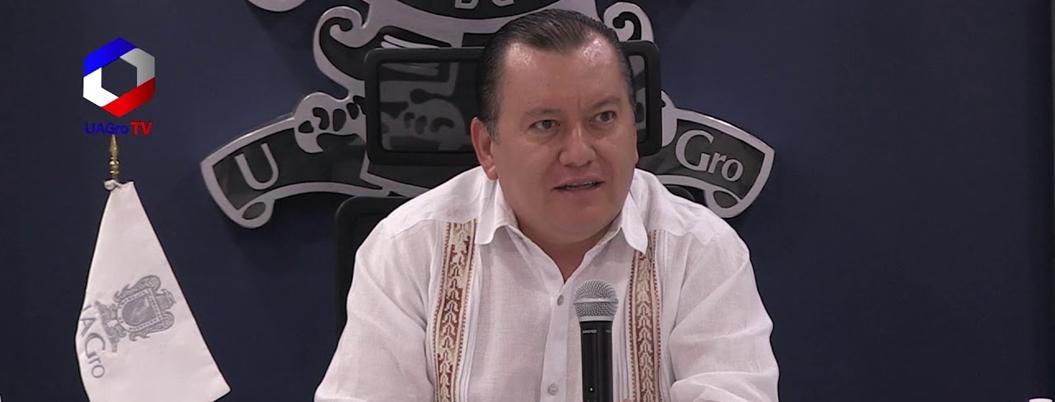 Rector tiene en orden comprobación de recursos públicos en la UAGro