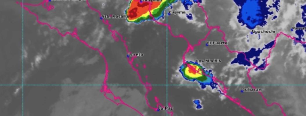 Lorena pierde fuerza sobre costas de Hermosillo; provocará lluvias