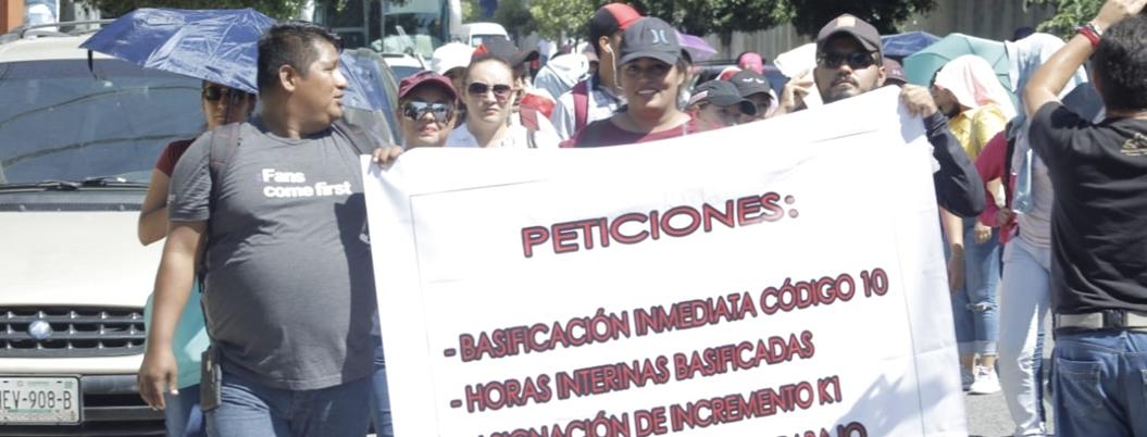 Maestros idóneos exigen sus bases en Chilpancingo