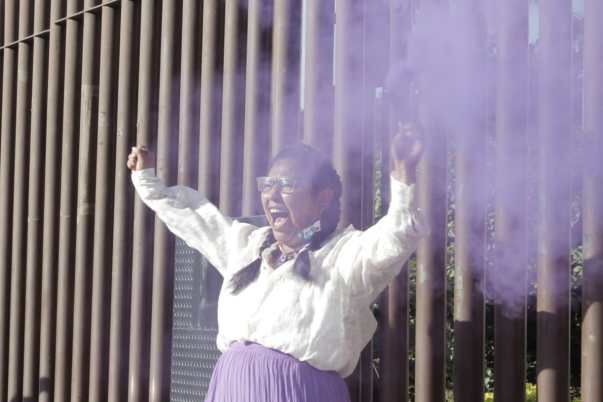 Marchan por destitución de la secretaria de la mujer en Guerrero 1