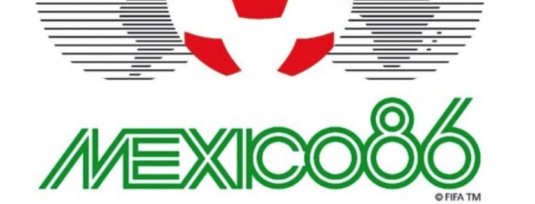 Logo de Mundial México 86, el mejor de toda la historia del balonpié