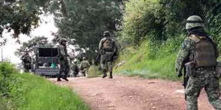 Militares sierra