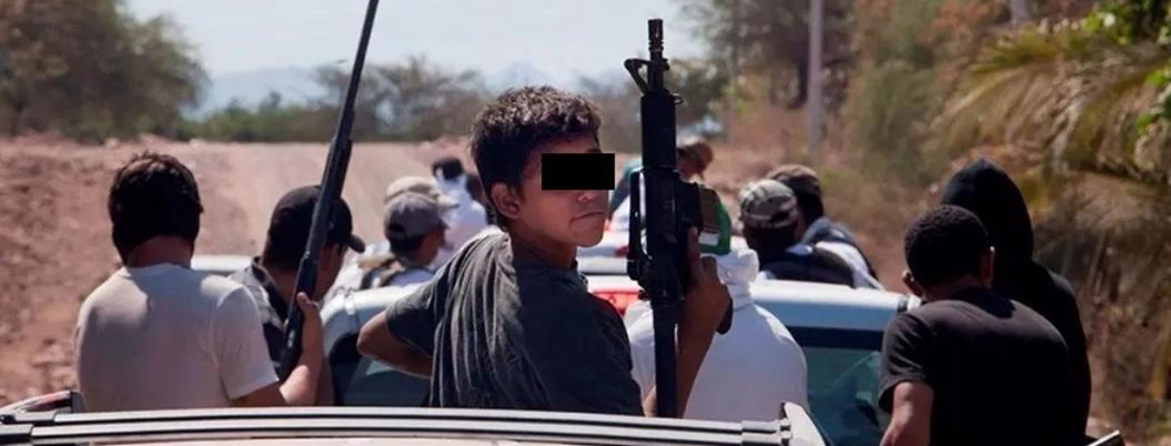 Soldaditos de la droga, niños desechables que trabajan para el narco