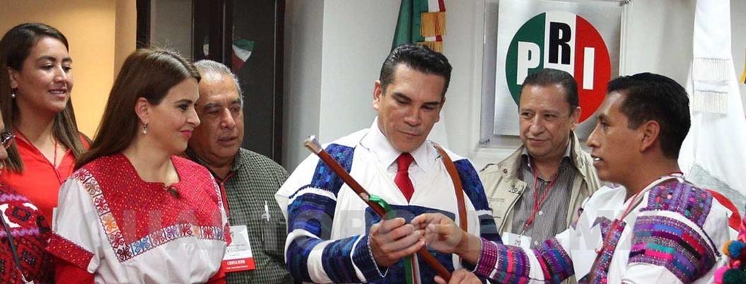 PRI ahora defiende a indígenas; inventa que AMLO les redujo presupuesto