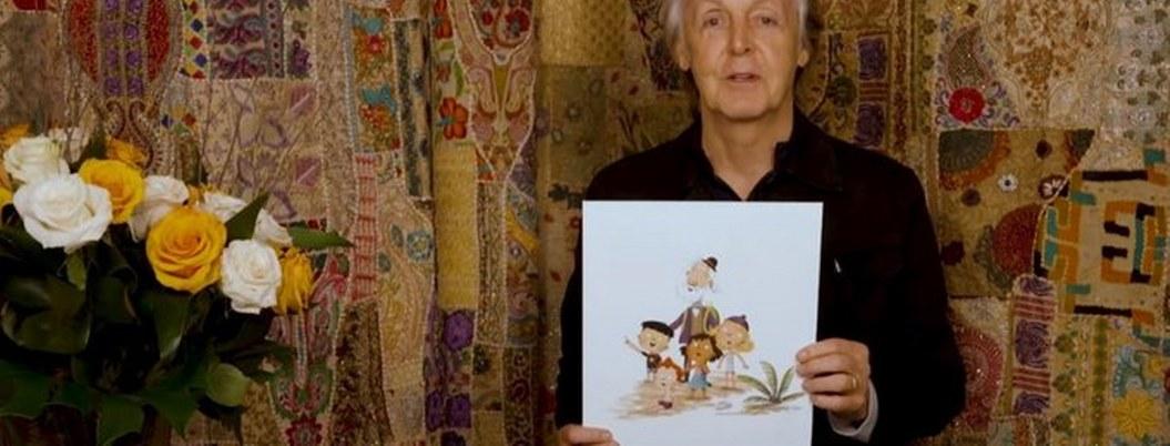 """Hey Grandude"" , libro Paul McCartney para el público infantil"