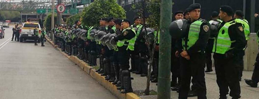 SSPC pide a policías federales que no afecten a ciudadanos con protesta