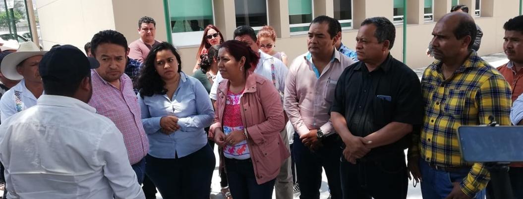 Cochoapa protesta contra Fiscalía estatal por alcalde desaparecido