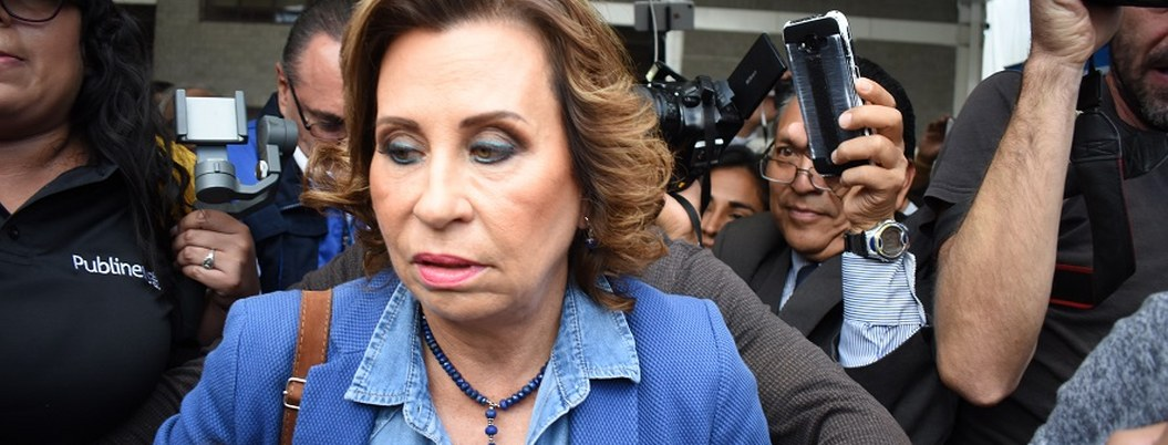 Excandidata de Guatemala detenida por financiamiento ilícito