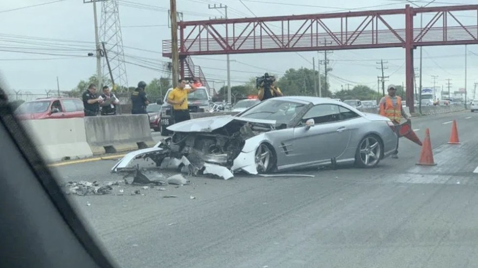 """El Tuca"" Ferreti sufre aparatoso accidente | VIDEO"