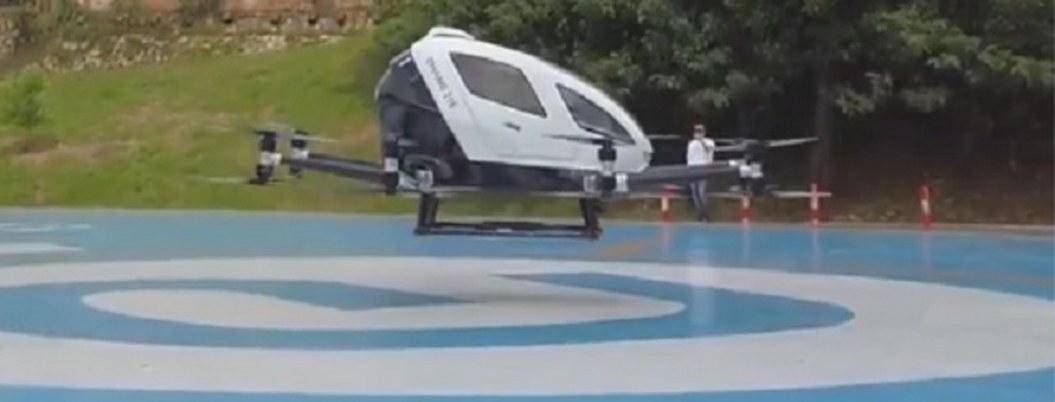 El primer dron de pasajeros en México ya es una realidad