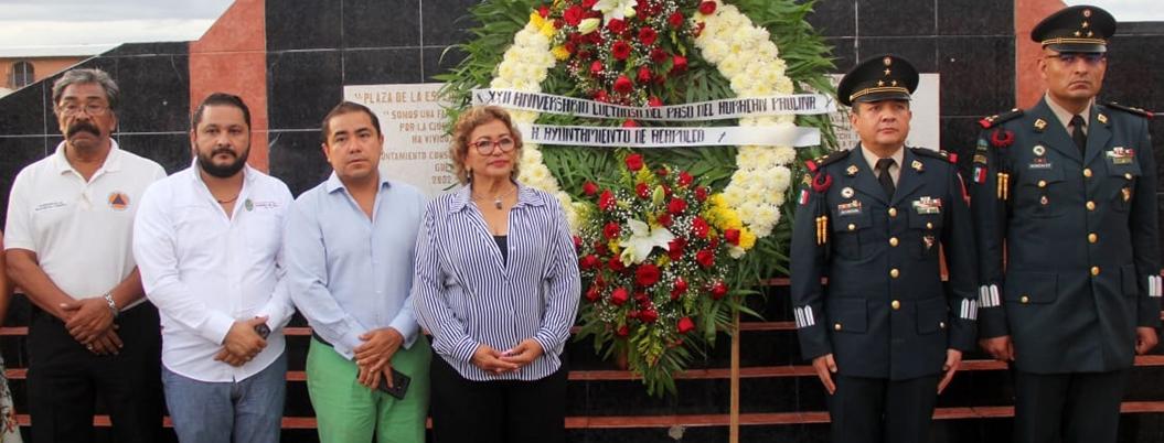 Adela conmemora el 22 aniversario de la tragedia provocada por Paulina