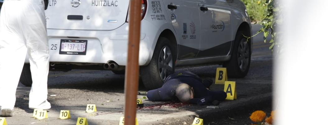 Asesinan a comandante de la Policía Preventiva en Cuernavaca