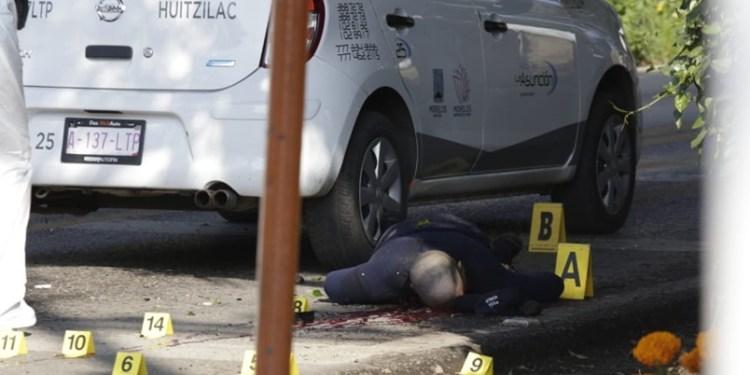 Asesinan a comandante de la Policía Preventiva en Cuernavaca 1