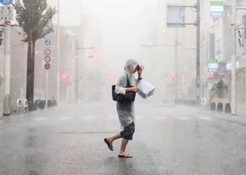 Tifón Hagidis toca tierra en Honshu, Japón 7