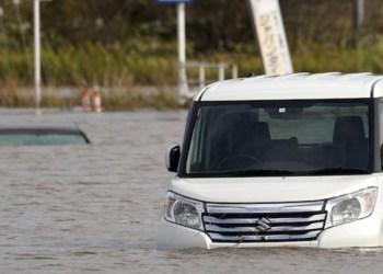 Lluvias torrenciales dejan 10 muertos en Japón 6