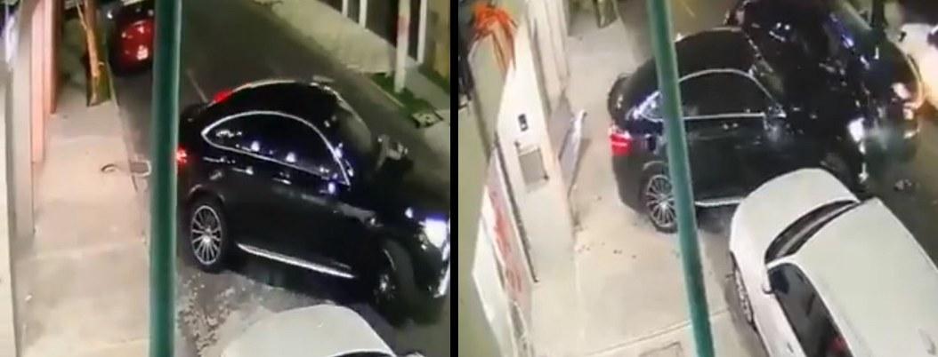 VIDEO| conductor embiste a secuestradores para burlar secuestro