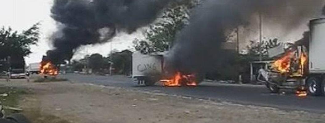 Crimen organizado sitia las carreteras de México