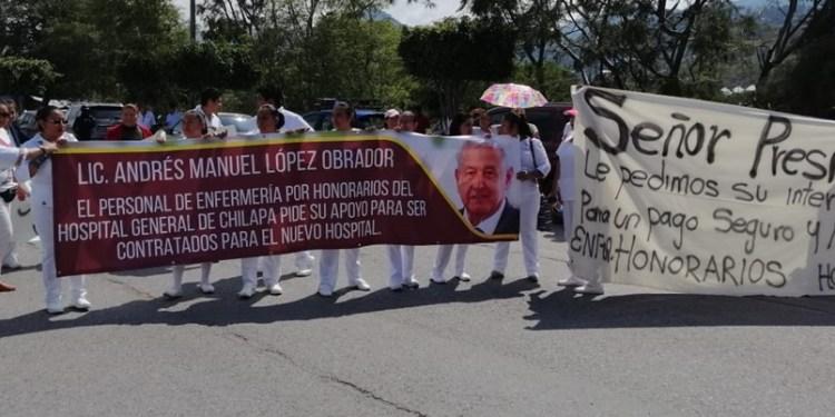 Organizaciones campesinas y otros sectores protestan contra AMLO 1