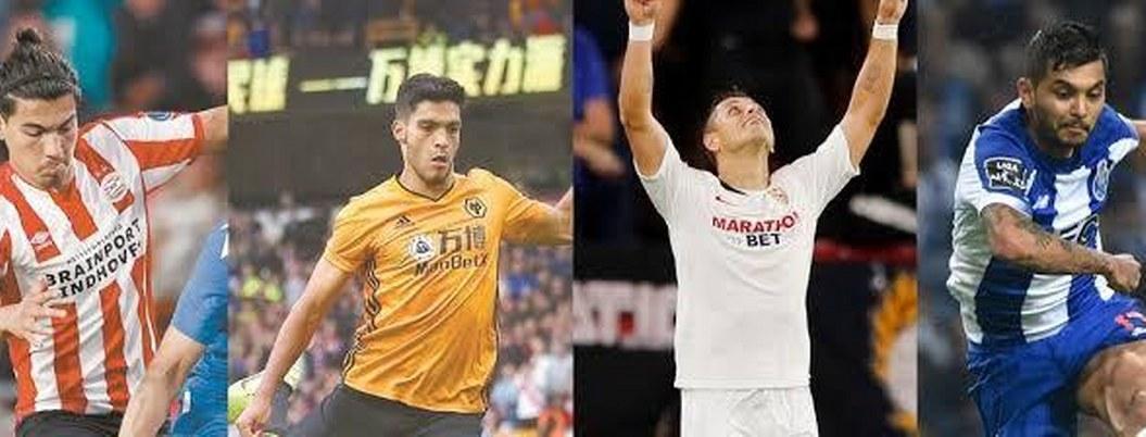 Europa League: agenda de los futbolistas mexicanos en el extranjero