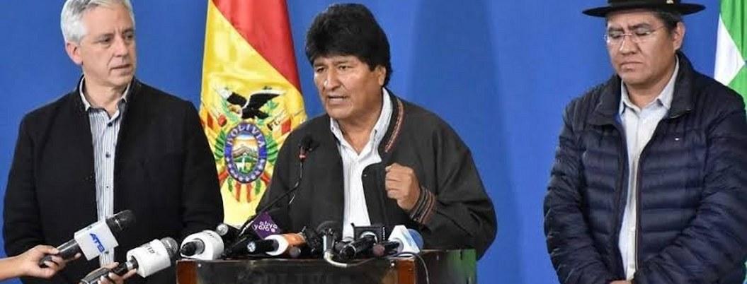 Evo Morales anuncia que repetirán elecciones en Bolivia