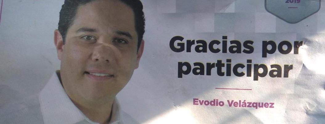 Evodio busca resurgir; no le importan los escándalos por corrupción