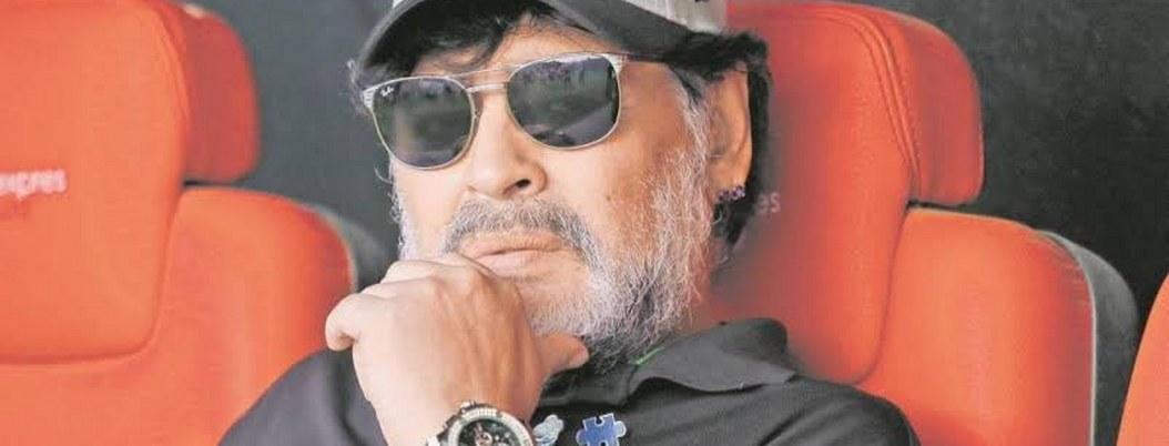 Diego Armando Maradona desmiente que se esté muriendo