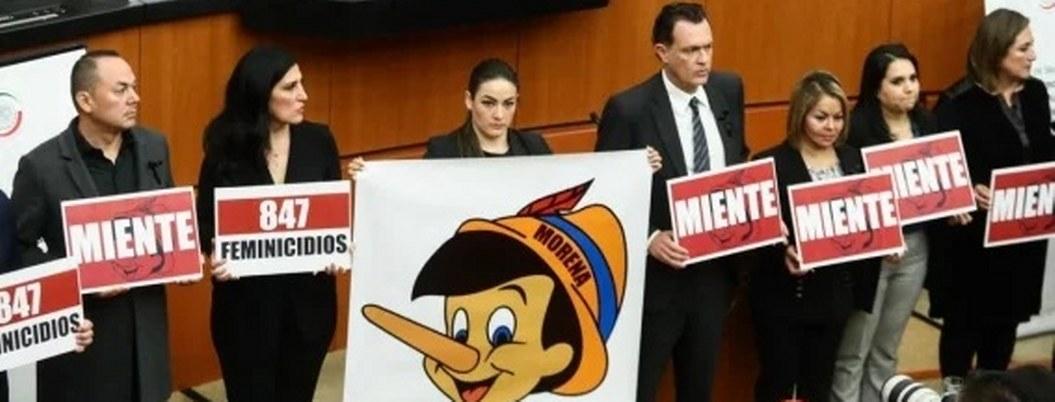 Panistas se burlan de Alfonso Durazo con imagen de Pinocho