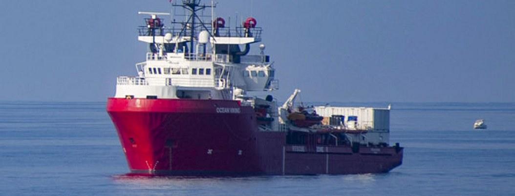 Buque Ocean Viking rescató a 94 migrantes en el mar Mediterráneo