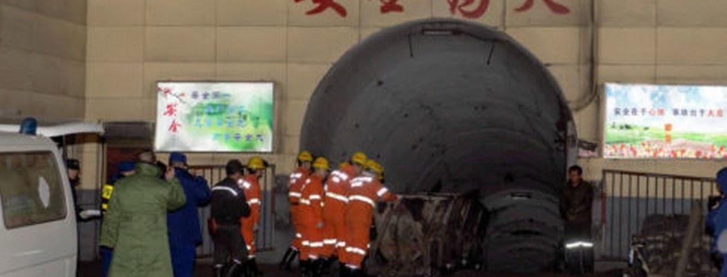Explosión de gas mata a 15 trabajadores de una mina en China