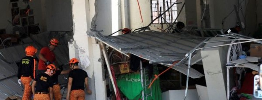 Aumenta a 16 víctimas por 2 sismos que sacudieron Filipinas