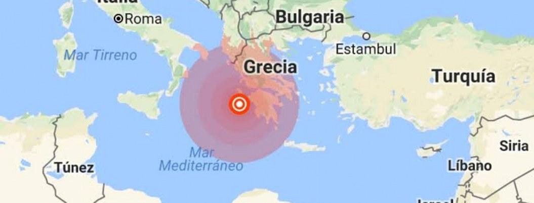 Grecia despierta con sacudida de 6 grados, sin reporte de víctimas