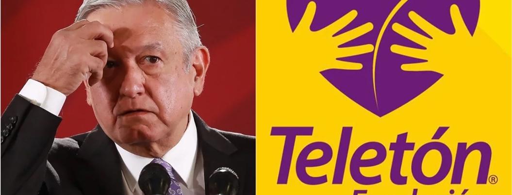 Alaban intención de AMLO de trabajar con el Teletón