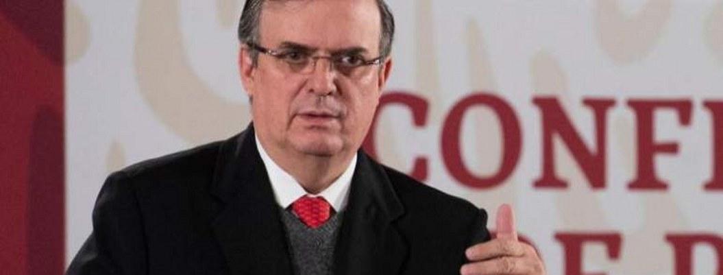 Ebrard pide a EEUU no cerrar frontera con México
