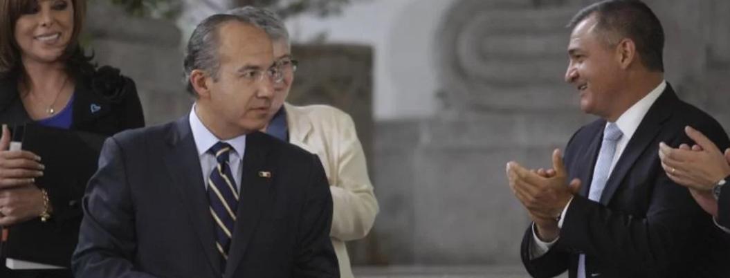 García Luna recibió desvío de Segob durante gobierno de Calderón