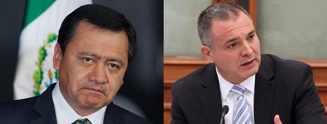 Osorio Chong habría mandado dinero a García Luna desde la Segob