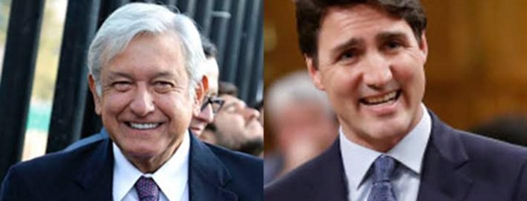 López Obrador ofreció avión presidencial a Trudeau
