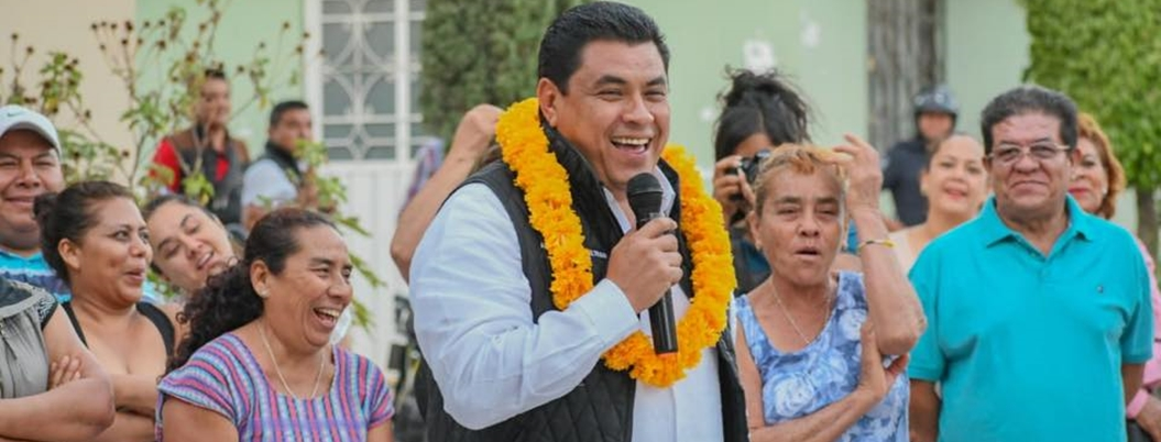 """""""Fui de los que venció el efecto electoral de AMLO"""", presume Gaspar"""