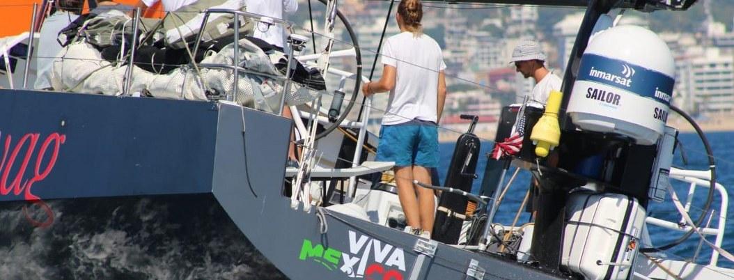 Barco que participará en The Ocean Race 2021-22 llega a Acapulco 2