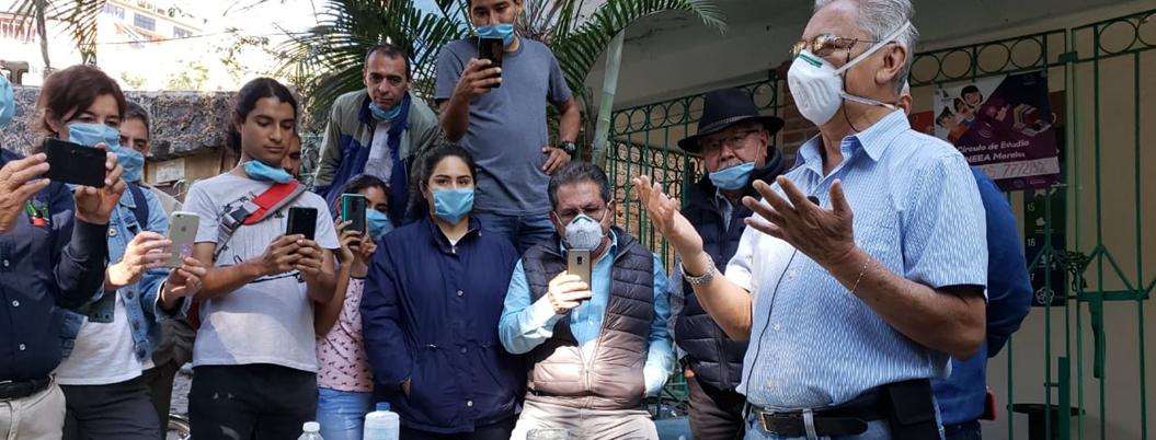 Regidor limpiará con químicos barrancas de Cuernavaca; lo critican