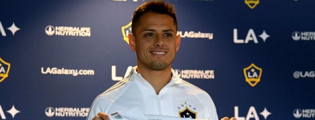 Galaxy presenta oficialmente al Chicharito como su nuevo jugador