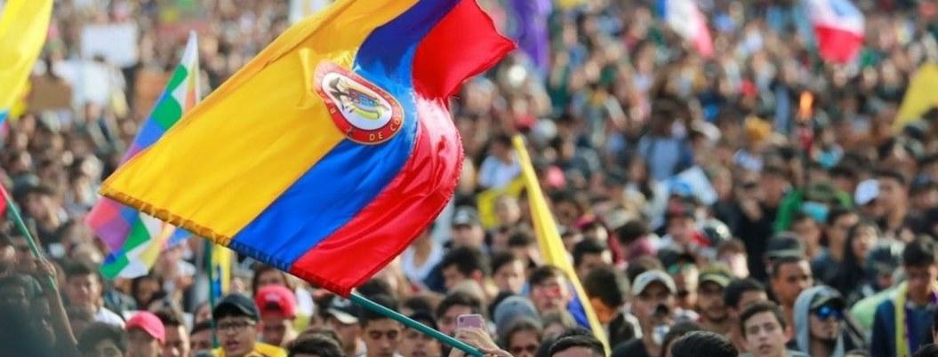 Colombianos retoman movilizaciones contra Iván Duque