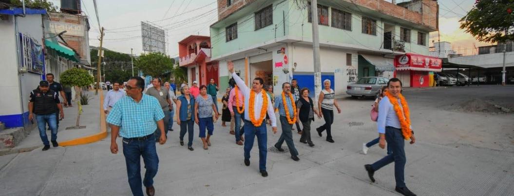 Gaspar condiciona la obra pública a población de Chilpancingo