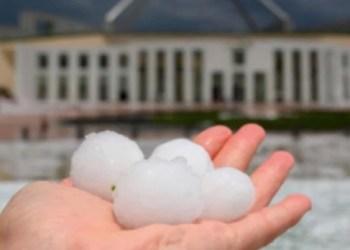 Australia, azotada por el cambio climático: ahora granizo gigante 3