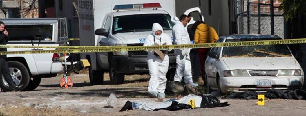 Guanajuato concentra el 20% de los homicidios que ocurren en México